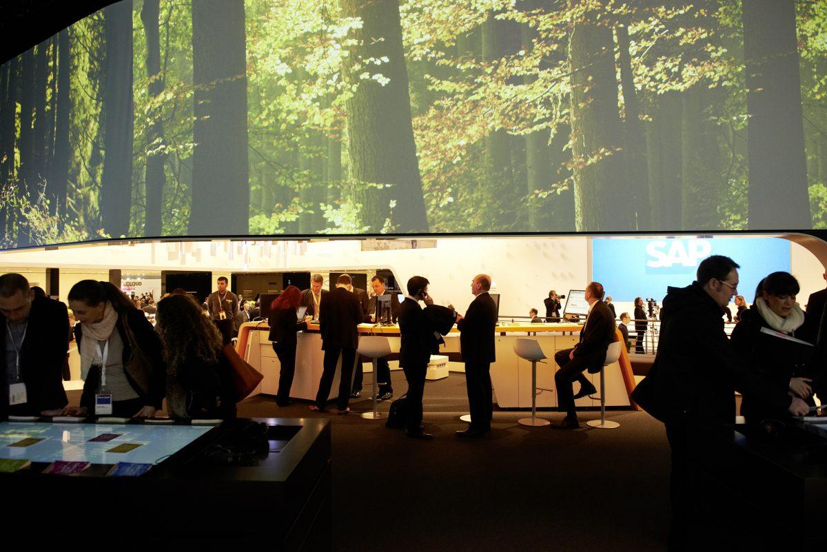 SAP CeBIT 2013 - gate11 | audio-visuelle kommunikation